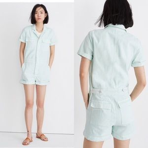 Madewell coverall romper